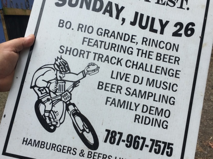 Old Burger/Beer fest ad